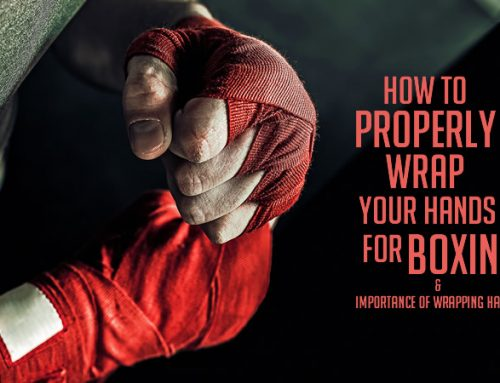 How to wrap your hands for boxing (The importance of wrapping hands)