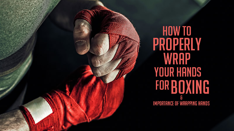 boxing wrapping hands